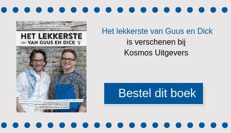 Pavlova's met Griekse yoghurt en rood fruit is een dessert van Guus Meeuwis uit het kookboek dat hij samen met sterrenchef Dick Middelweerd heeft samengesteld.