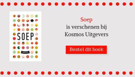 Zoete-aardappelsoep met kokos en cashewnoten is een recept uitSoep, een kookboekvan de drie take-a-way soepwinkels Soup en Zo in Amsterdam