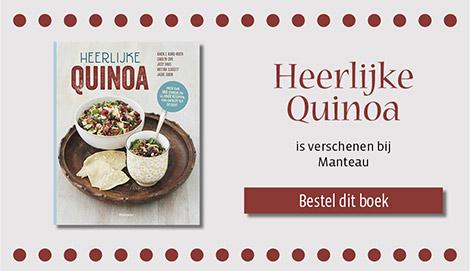 Groentechili met zwarte bonen en quinoa uit Heerlijke Quinoa