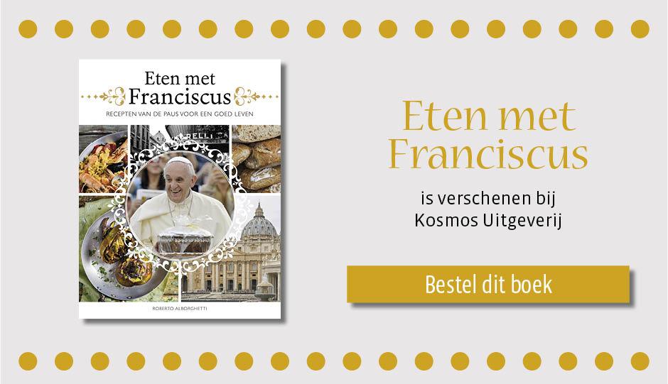 hazelnoottaart van paus Franciscus